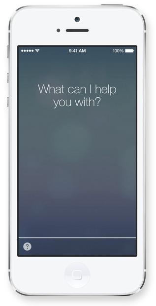 Siri in iOS 7 Apple presenta iOS 7, una carrellata delle novità più importanti