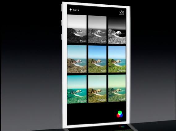 filtri fotografici in iOS 7