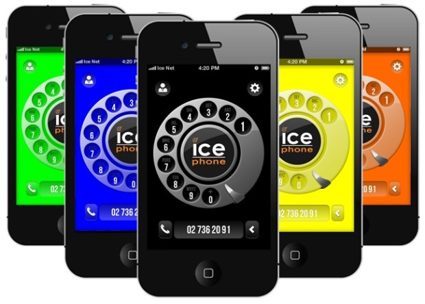 ice phone - app