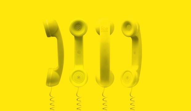 ice phone - cornetta