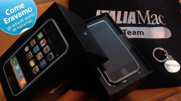 Come Eravamo iPhone 1G Italiamac 2007 620x347 Tutti i limiti e i vincoli del sistema iPhone (04.07.2007)