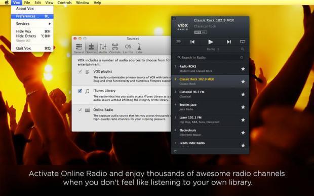 VOX 4 620x387 VOX il player musicale sbarca sul Mac App Store