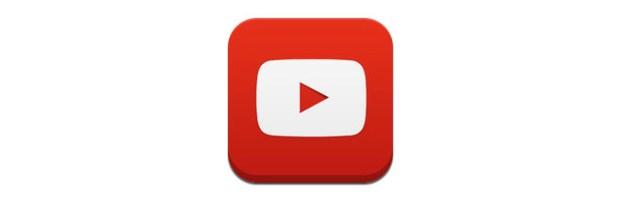 YoutubeIconaApp 620x209 YouTube, nuovo logo ufficiale per icone e app