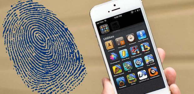 iphone 5 impronte digitali