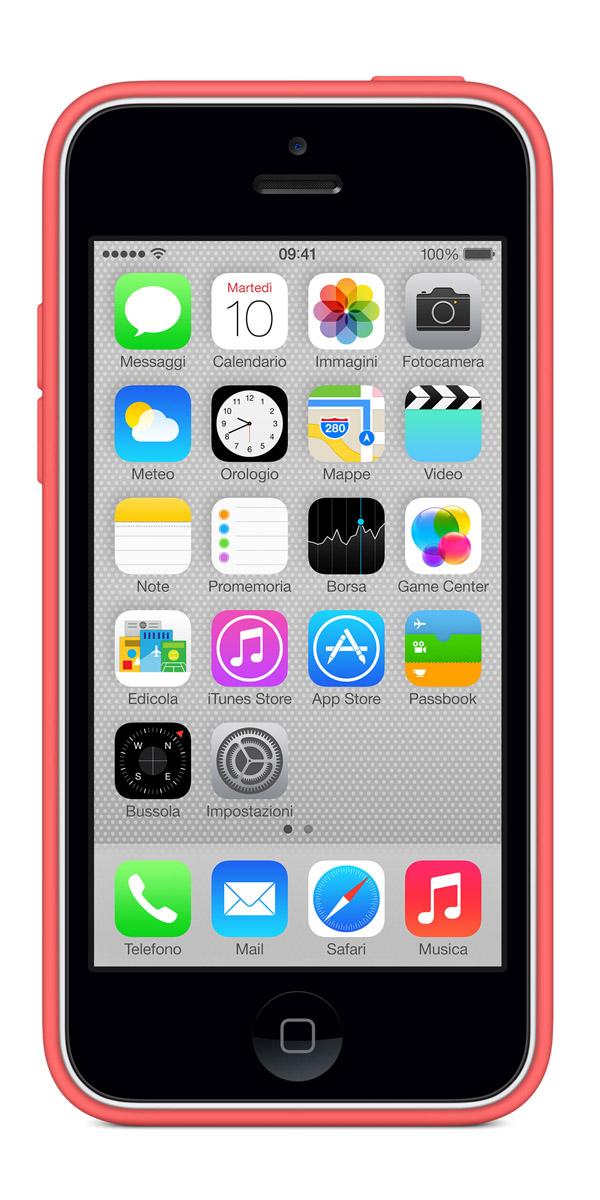 cases gallery front white pink [Galleria] Apple presenta il nuovo iPhone 5c, diamo uno sguardo al nuovo stile colorato made in Cupertino