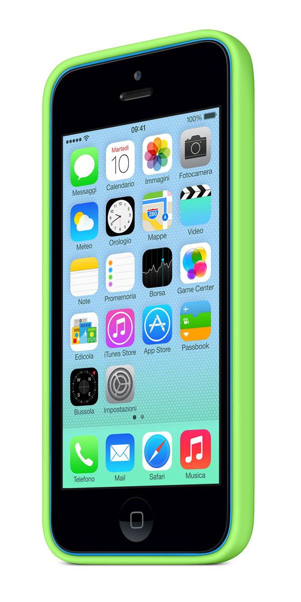 cases gallery threequarterfront blue green [Galleria] Apple presenta il nuovo iPhone 5c, diamo uno sguardo al nuovo stile colorato made in Cupertino
