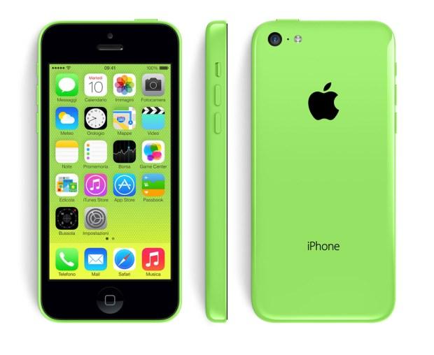 design gallery slide green 620x508 [Galleria] Apple presenta il nuovo iPhone 5c, diamo uno sguardo al nuovo stile colorato made in Cupertino