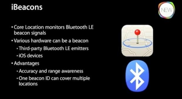 ibeacon funzionalità 620x339 Con iBeacon Apple risponde alle funzionalità dellNFC con il Bluetooth Smart