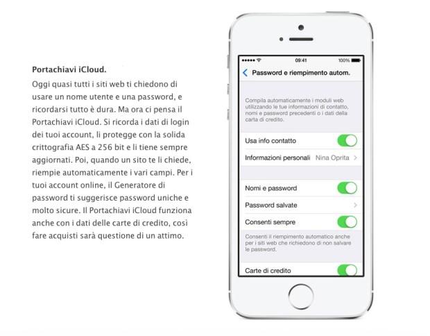 Portachiavi iCloud 620x484 Password al sicuro e sincronizzate con il Portachiavi iCloud: Ecco come funziona!