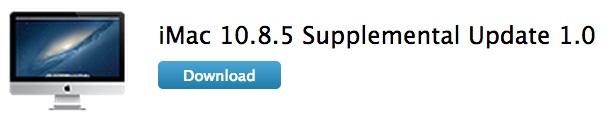 iMac Supplemental Update Apple rilascia due aggiornamenti per iMac Late 2013