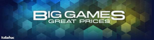 App Store Big Games 620x165 Bioshock: Infinite scontato sul Mac App Store! (e altri 10 giochi)
