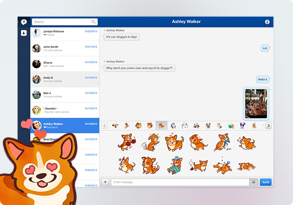 MessageMe Desktop MessageMe introduce i nickname ed approda sul Web