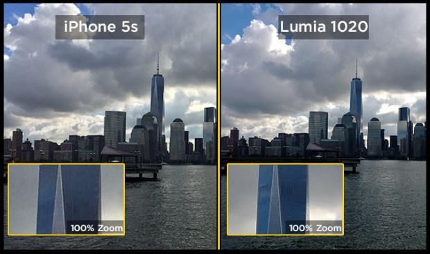 New York Skyline Zoomed 620x367 Sfida tra fotocamere: gli 8 MP di iPhone 5s contro i 41 di Lumia 1020. Risultato scontato?