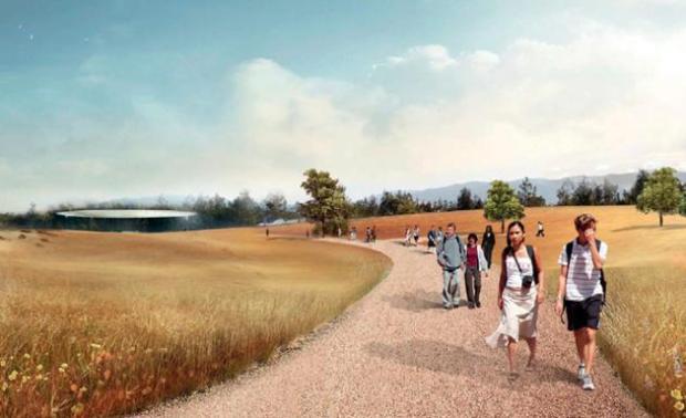 New apple campus 620x378 Apple pronta al trasloco nel suo nuovo campus futuristico