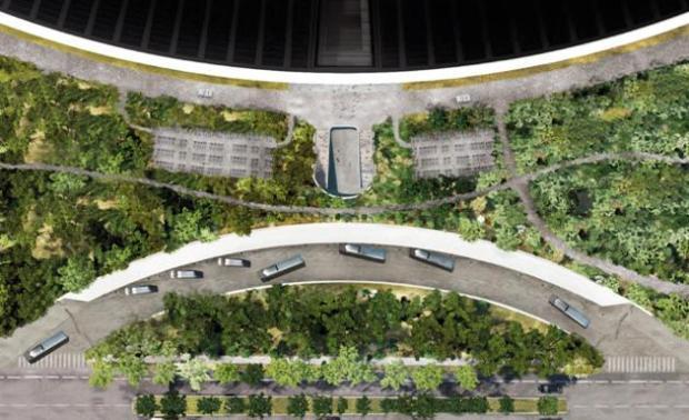 apple nuovo campus 620x378 Apple pronta al trasloco nel suo nuovo campus futuristico