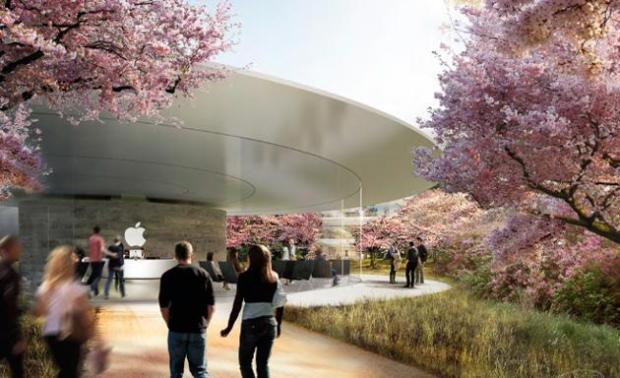 nuovo campus apple 620x378 Apple pronta al trasloco nel suo nuovo campus futuristico