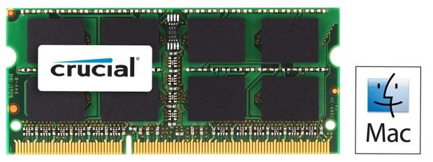 CrucialDDR3 memoryForMac 620x233 Le memorie Ram di Crucial per i nostri Mac