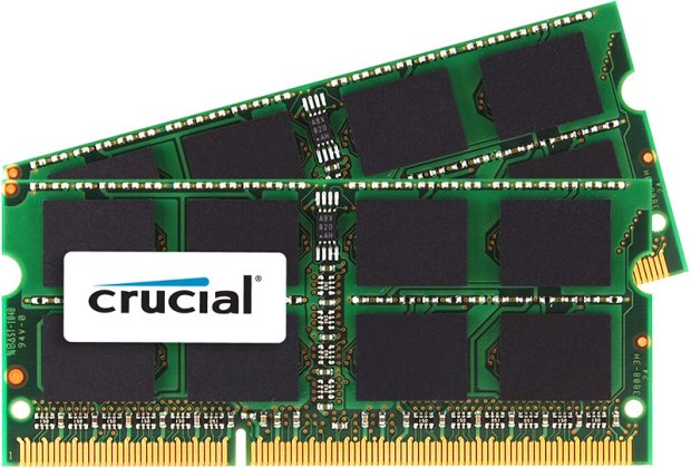 Crucial DDR3 memory For Mac kit