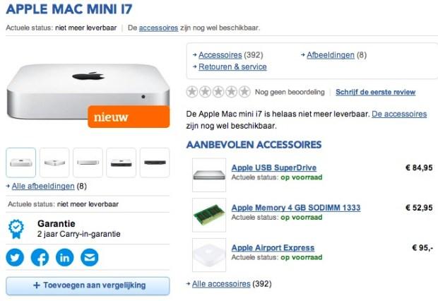 mac mini haswell be 620x426 Dal Belgio arriva la notizia di un aggiornamento del Mac mini per fine febbraio