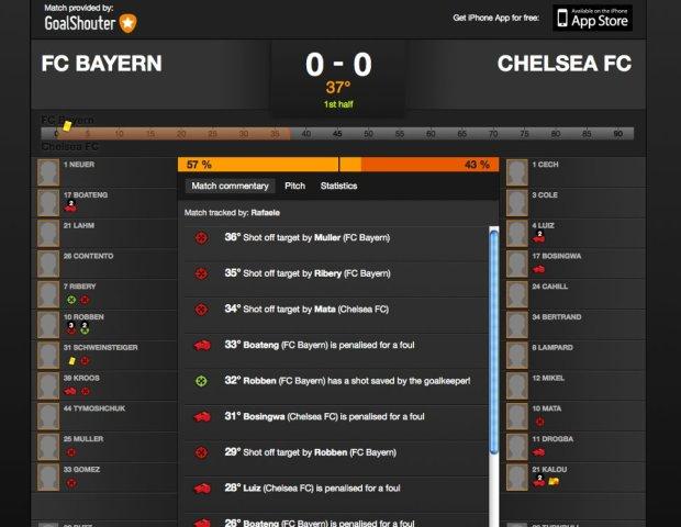 GoalShouter 620x480 GoalShouter, fai la diretta web di qualsiasi partita di calcio