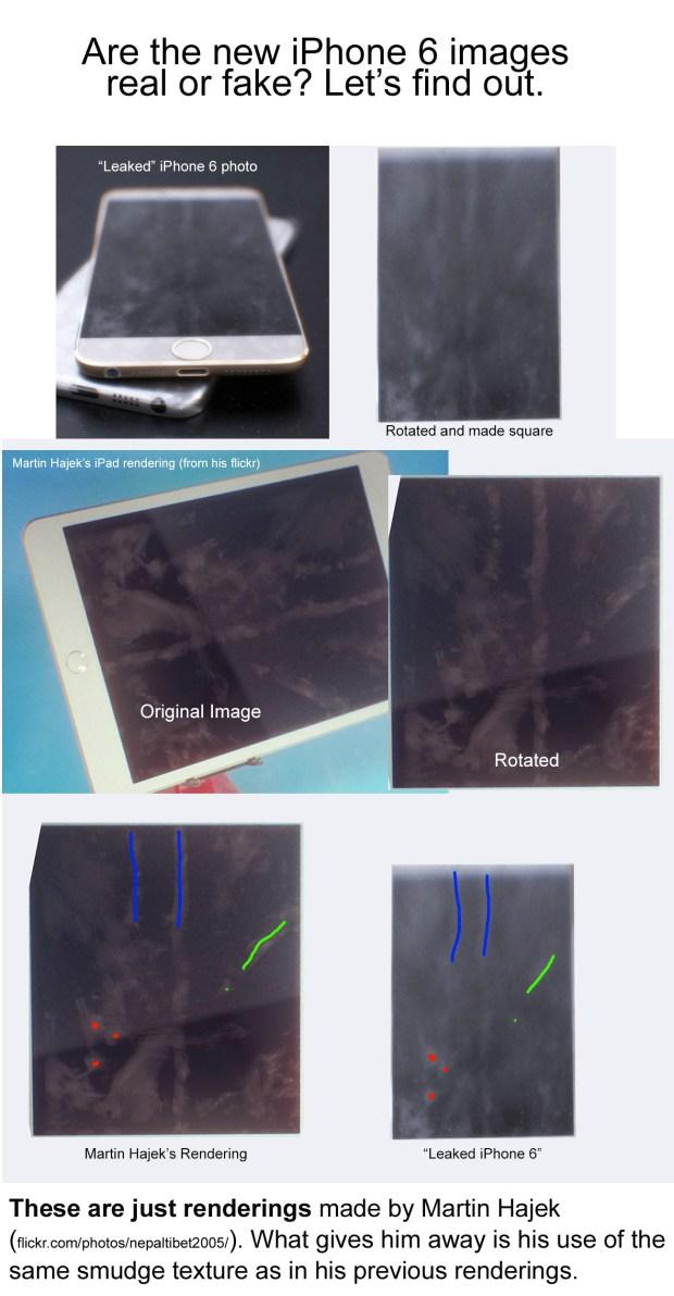QF1zNfO 620x1192 Un successo le foto trapelate delliPhone 6, ma sono un fake