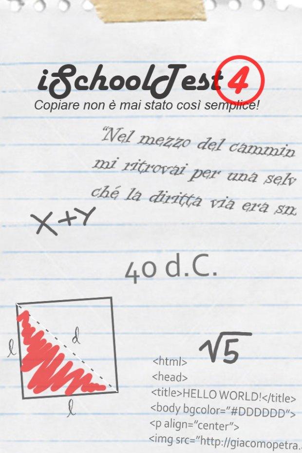 iSchoolTest 620x930 iSchoolTest, la app per gli studenti delle scuole superiori