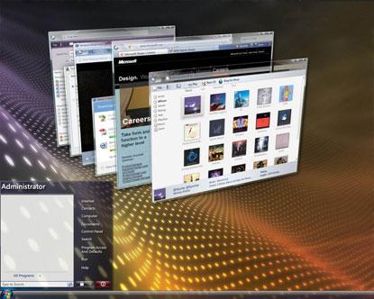 vista stack Tutto il mondo fa wow per la brutta copia di Apple Exposè (06.06.2007)