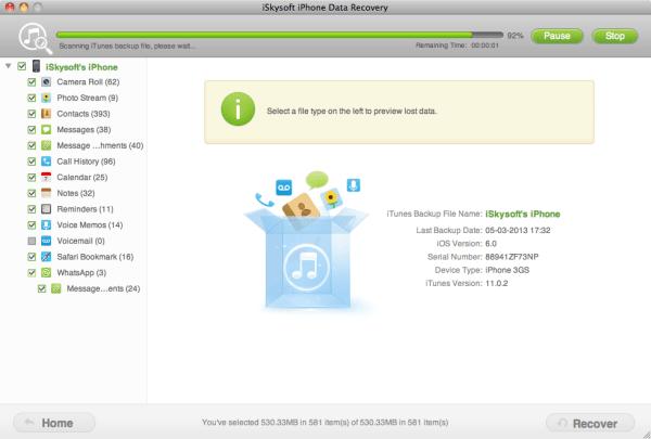 directly scan iphone Giveaway: Italiamac vi regala iPhone Data Recovery per Mac