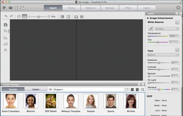 Schermata 2014 04 12 alle 11.43.32 620x393 FaceFilter 3: utile editor per migliorare le foto dei volti, anche con effetti