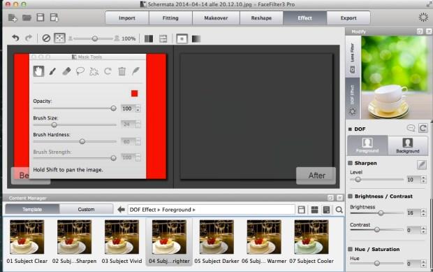 Schermata 2014 04 14 alle 20.19.41 620x389 FaceFilter 3: utile editor per migliorare le foto dei volti, anche con effetti