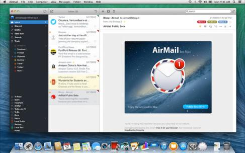 %name Mac: AirMail unalternativa a Mail App di default di Apple