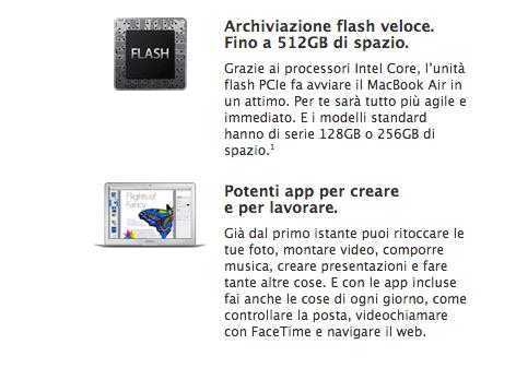 macbookair Apple: MacBook Air con nuovi processori