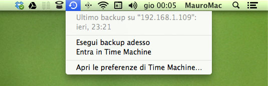 timemachinemenu Mini Tutorial: Time Machine, un paio di opzioni davvero interessanti.