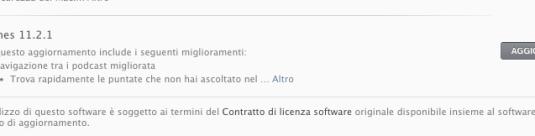 11.2.1 620x138 Apple rilascia iTunes 11.2.1 per risolvere un bug riscontrato sui Mac