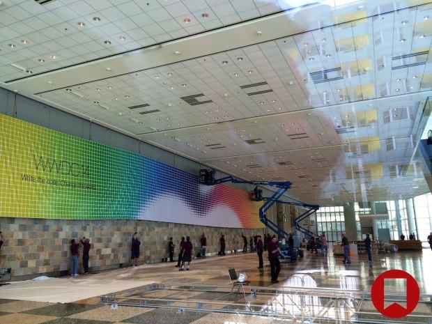 1401217191 Photo May 27 11 44 02 AM 620x465 Il Moscone Center é pronto per il WWDC 2014 del 2 giugno