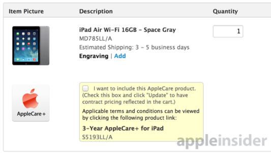 applecare+ 620x350 Apple: 36 mesi per Apple Care +