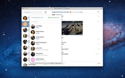 telegram3 620x385 Telegram, lapplicazione di messaggistica ora è anche disponibile per Mac