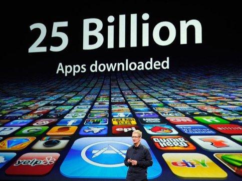 timcook Apple: in USA vengono utilizzate molte più app per iOS