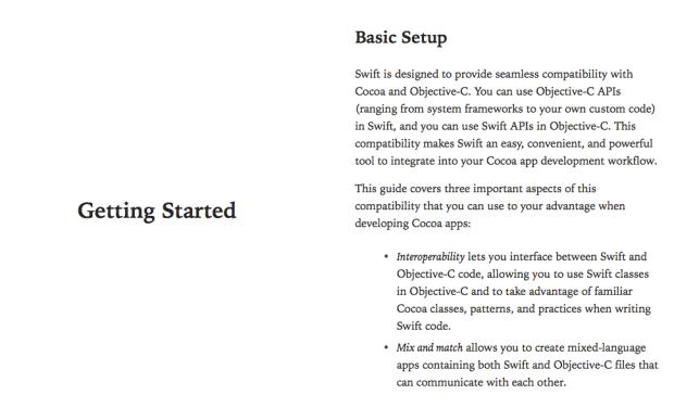 appleebook 620x387 Apple pubblica un secondo libro, come utilizzare Swift con Cocoa e Objective C