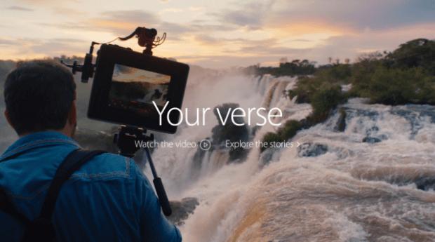 applespot 620x345 LAzienda di Cupertino decide di creare i suoi spot senza il lavoro di agenzie pubblicitarie esterne
