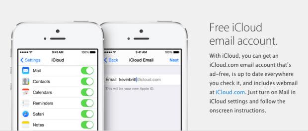 mailicloud 620x263 LAzienda di Cupertino aumenterà la sicurezza della posta elettronica di iCloud