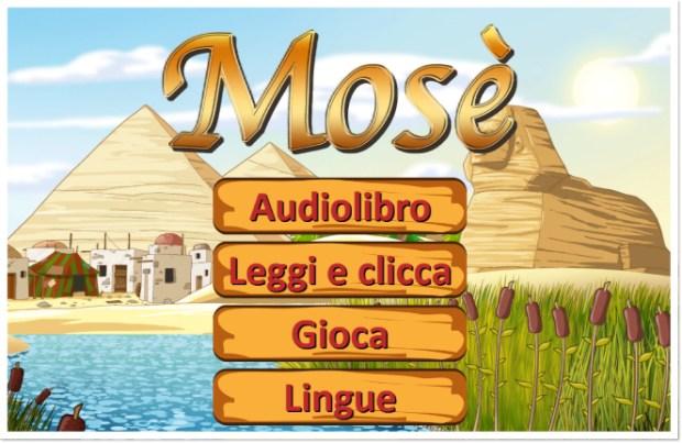 testata mose 620x403 La Bibbia per bambini, nuove storybook app per iOS
