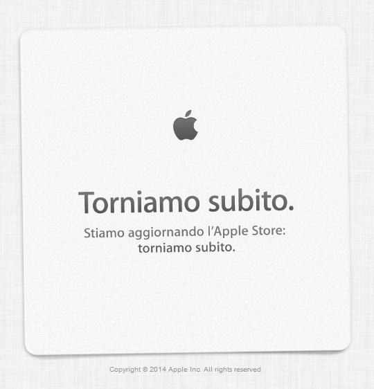 Apple Store Offline Apple Store offline. Nuovi MacBook Pro con display Retina? AGGIORNATO.