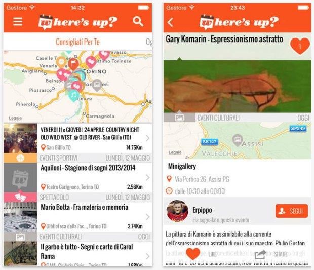 Where s Up ios 620x533 Wheres Up, un social network dedicato agli eventi