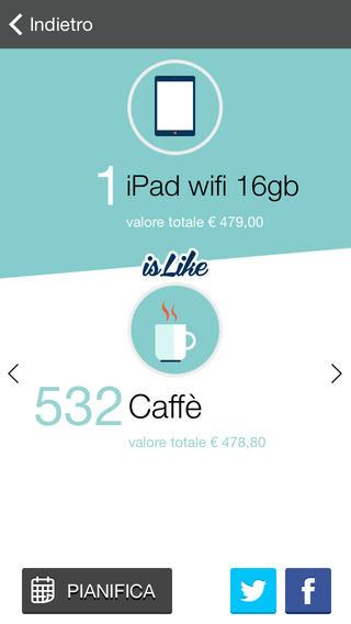 app22 isLike unApp che ci aiuta ad acquistare i nostri oggetti, evitando gli sprechi