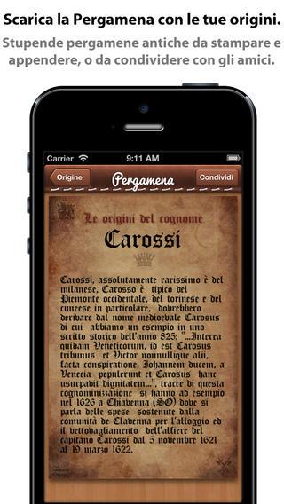 app26 iCognomi, unApplicazione con cui potrai scoprire la storia, il significato, le radici e i luoghi tipici dei cognomi