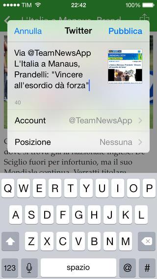 calcio2 TeamNews l'App ideale per restare aggiornato sulla tua squadra del cuore e sul mondo del calcio!