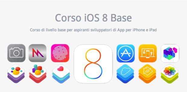 corso ios8 620x306 Tante le App di ex alunni del Corso iOS 8 Base di Objective Code