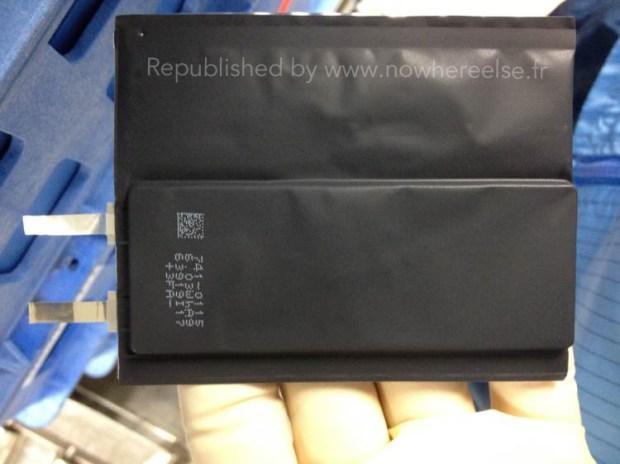 iPhone 6 Air Batterie 01 620x464 [Rumors] Nuove immagini che ritraggono un nuovo design della batteria del nuovo iPhone marchiato Apple