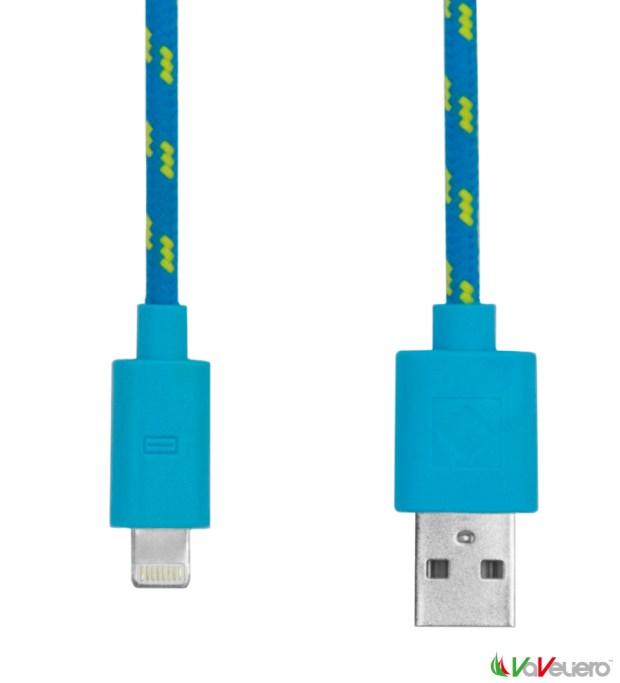 rope cable lighting blue 620x683 VaVeliero: il cavo Lightning per iDevice in stile Nautico